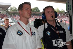 Ralf Schumacher and Sam Michael