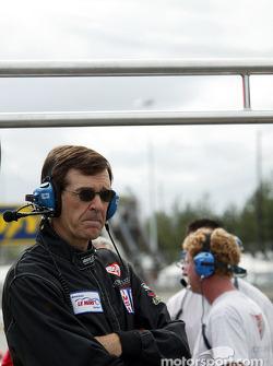 L'ingénieur en chef du Flying Lizard Motorsports Craig Watkins