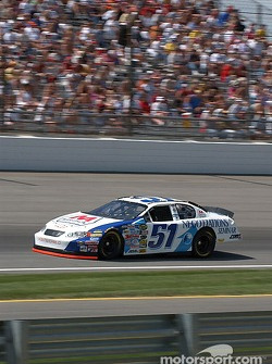 #51 Kevin Lepage qualifies for the Brickyard 400