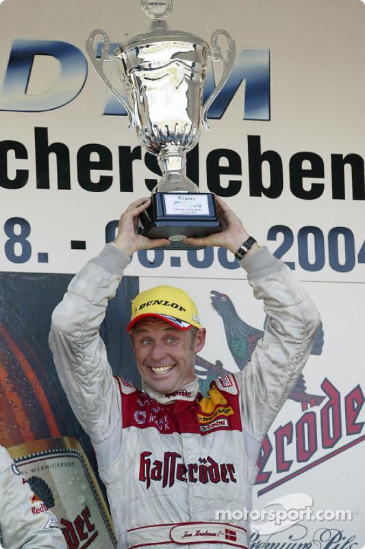 Podium: 1. Tom Kristensen, Team Abt Sportsline, Audi A4 DTM 2004
