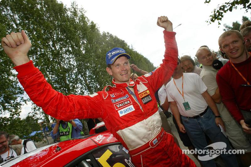 El ganador Marcus Gronholm