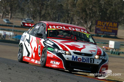 Mark Skaife pushing his HRT Commodore