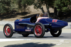 Peugeot demonstration lap