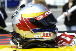 Helmet of Ron Fellows