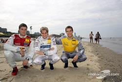 Martin Tomczyk, Christijan Albers and Jeroen Bleekemolen