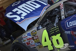 Jimmie Johnson's #48 Lowes Chevy