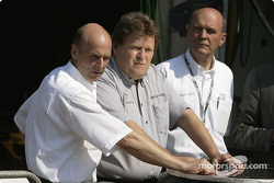 Volker Strycek, Norbert Haug and Dr Wolfgang Ullrich