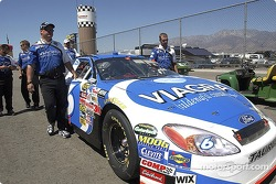 Team Viagra takes there car to tech inspection
