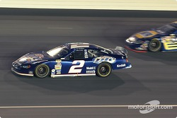 Rusty Wallace passes Michael Waltrip