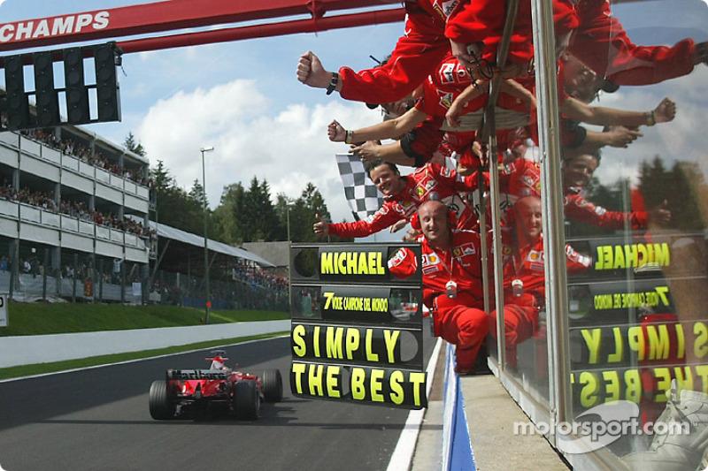 Gran Premio de Bélgica 2004