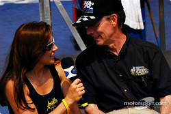 Angelle Savoie and ESPN's Bob Frey
