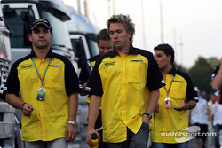 Timo Glock and Nick Heidfeld