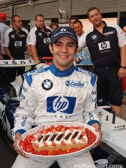 Birthday celebration for Antonio Pizzonia