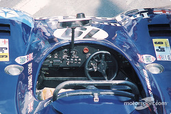 Le cockpit de la Hesketh 308LM