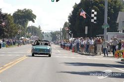 Glenora Rally through the streets of Watkins Glen