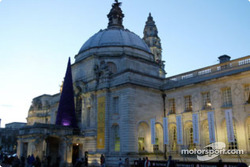 Cardiff City Hall: the Rally of Great Britain headquarters