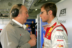 Martin Tomczyk with race engineer Dave Benbow