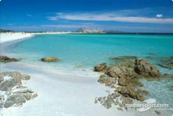 One of the many spectacular beaches in Sardinia