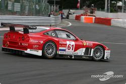 #61 Barron Connor Racing Ferrari 575 Maranello: Thomas Biagi, Danny Sullivan, John Bosch