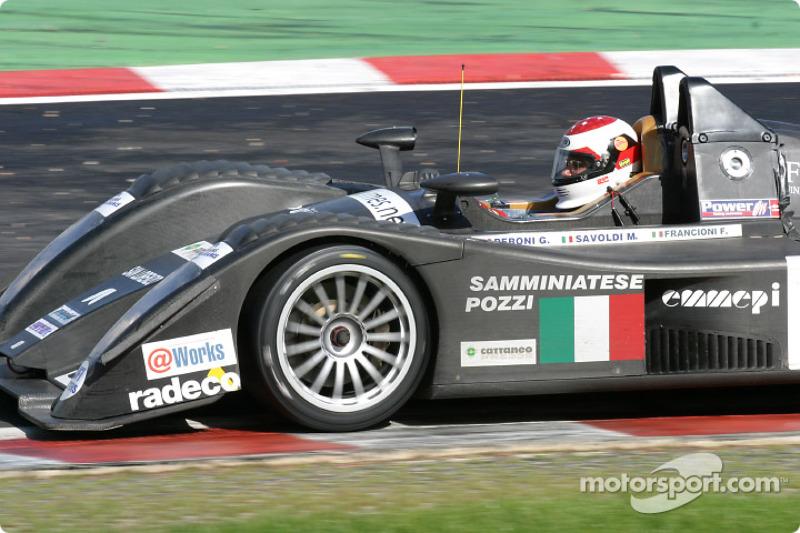 #32 Lucchini Engineering Lucchini XV LMP2/675 Judd: Pier Giuseppe Peroni, Mirco Savoldi, Filippo Franconi