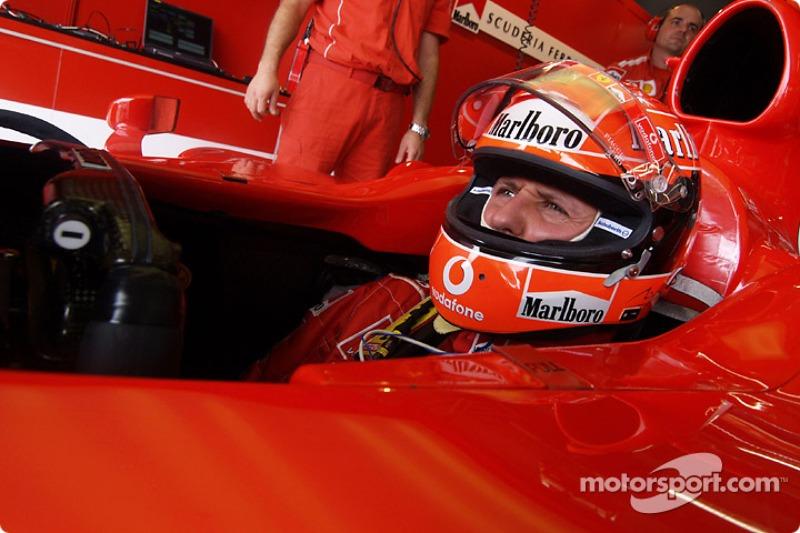 2004 Japanese GP, Ferrari F2004