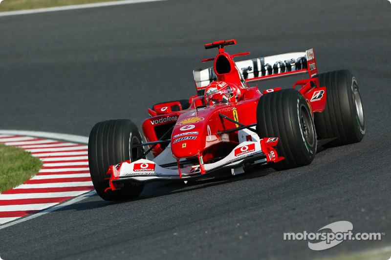 2004: Michael Schumacher (Ferrari F2004)