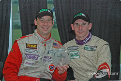 Press conference: Marc Bunting and Andy Lally