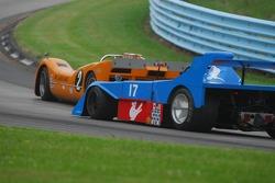 #2-  McLaren M6B of Robert Ryan #17- James Freeman Matich SR-3.