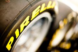 Pirelli tyre and logo