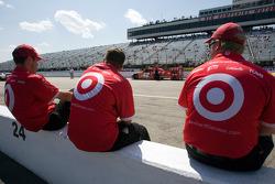 Earnhardt Ganassi Racing Chevrolet membres de l'équipe de Juan Pablo Montoya