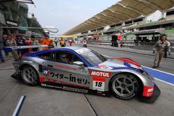 #18 Weider HSV-010: Takashi Kogure, Loic Duval of Weider Honda Racing
