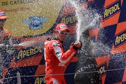 Podium: 3de Casey Stoner, Ducati Marlboro Team