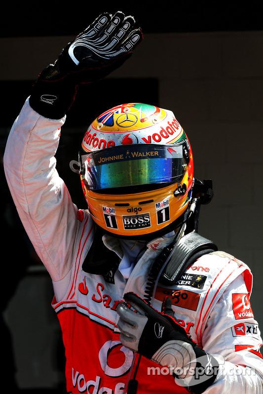2de plaats Lewis Hamilton, McLaren Mercedes