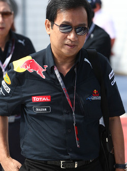 Chaleo Yoovidhya Thai Business partner of Dietrich Mateschitz CEO and Founder of Red Bull