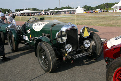 #50 Lagonda LG 45 1937: Florian Brandt, Peter Michaelis