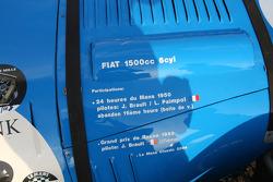#58 Fiat 1500 Spéciale 1950: Olivier du Boucheron, Anne du Boucheron, Edouard du Boucheron, Alexandra du Boucheron