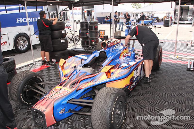 Auto van Alex Tagliani, FAZZT Race Team speciale kleurenschema