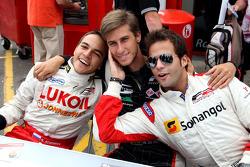 Sergey Afanasiev; Nicola de Marco en Ricardo Teixeira