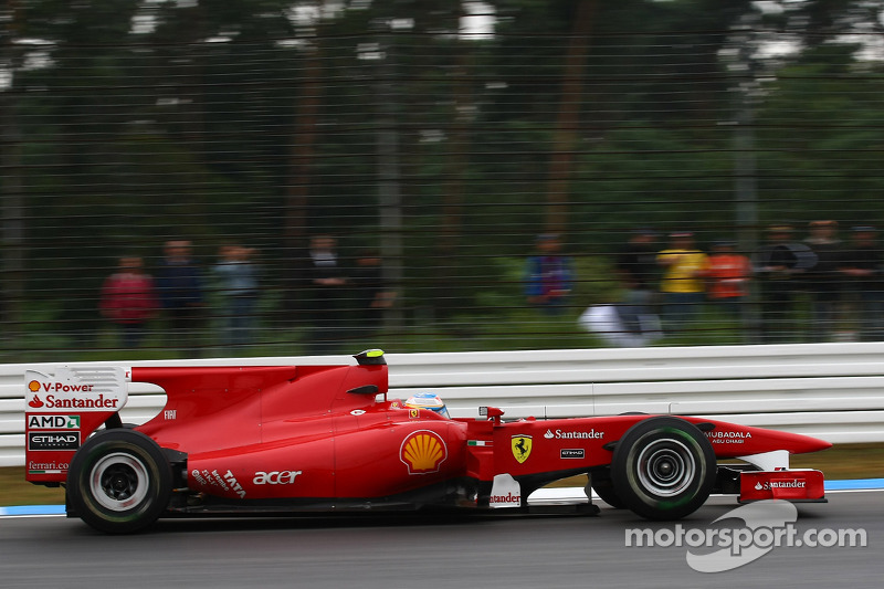 2010 - Hockenheim: Fernando Alonso, Ferrari F10