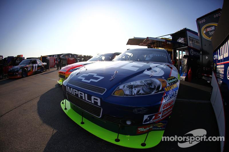 Auto van Jimmie Johnson, Hendrick Motorsports Chevrolet