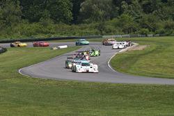 Start: #16 Dyson Racing Team Lola B09 86 Mazda: Chris Dyson, Guy Smith