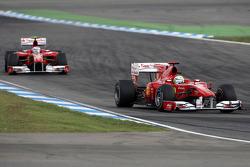 Феліпе Масса і Фернандо Алонсо, Ferrari