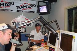 NASCAR drivers Ottawa media tour