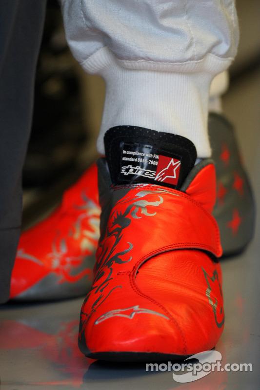 De schoenen van Michael Schumacher, Mercedes GP