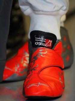 The boots of Michael Schumacher, Mercedes GP