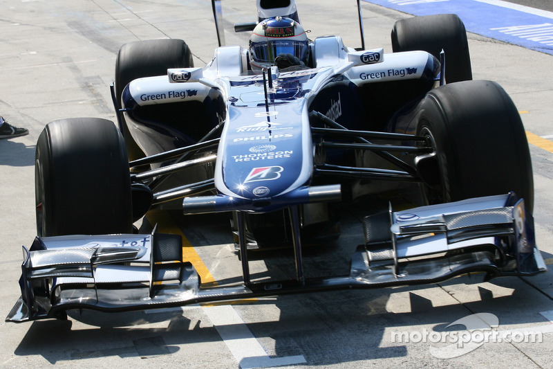 L'aileron avant de Williams