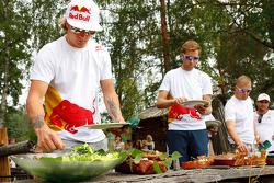 Citroën lunch: Kimi Raikkonen