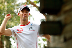 Citroën lunch: Sébastien Ogier