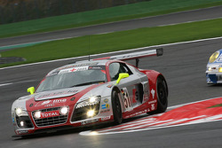 #51 Phoenix Racing Audi R8 LMS GT3: Alexenros Margaritis, Marc Hennerici, Andrea Piccini, Henri Moser