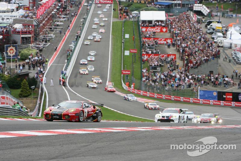 Start: #2 AF Corse - ALD Team Vitaphone Ferrari F430 GT2: Gianmaria Bruni, Bert Longin, Eric Van De